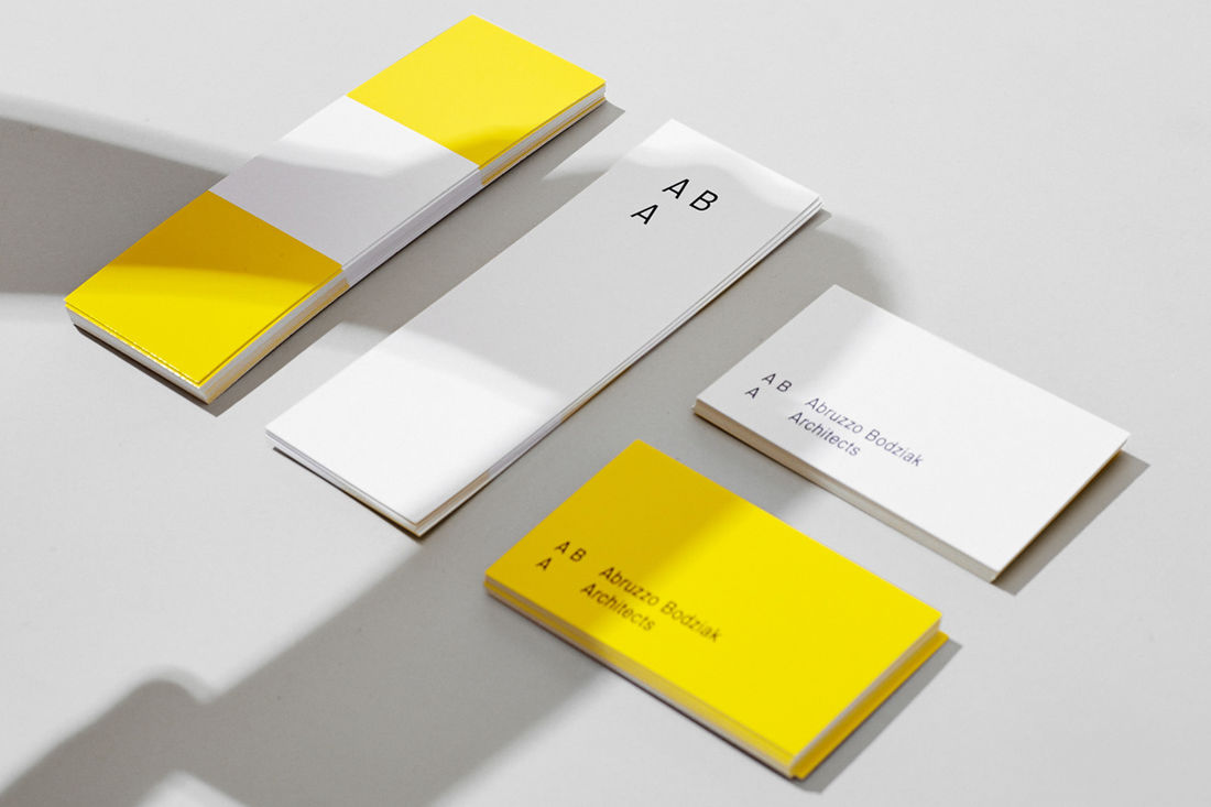 ABA Architects Print and Identity on Behance