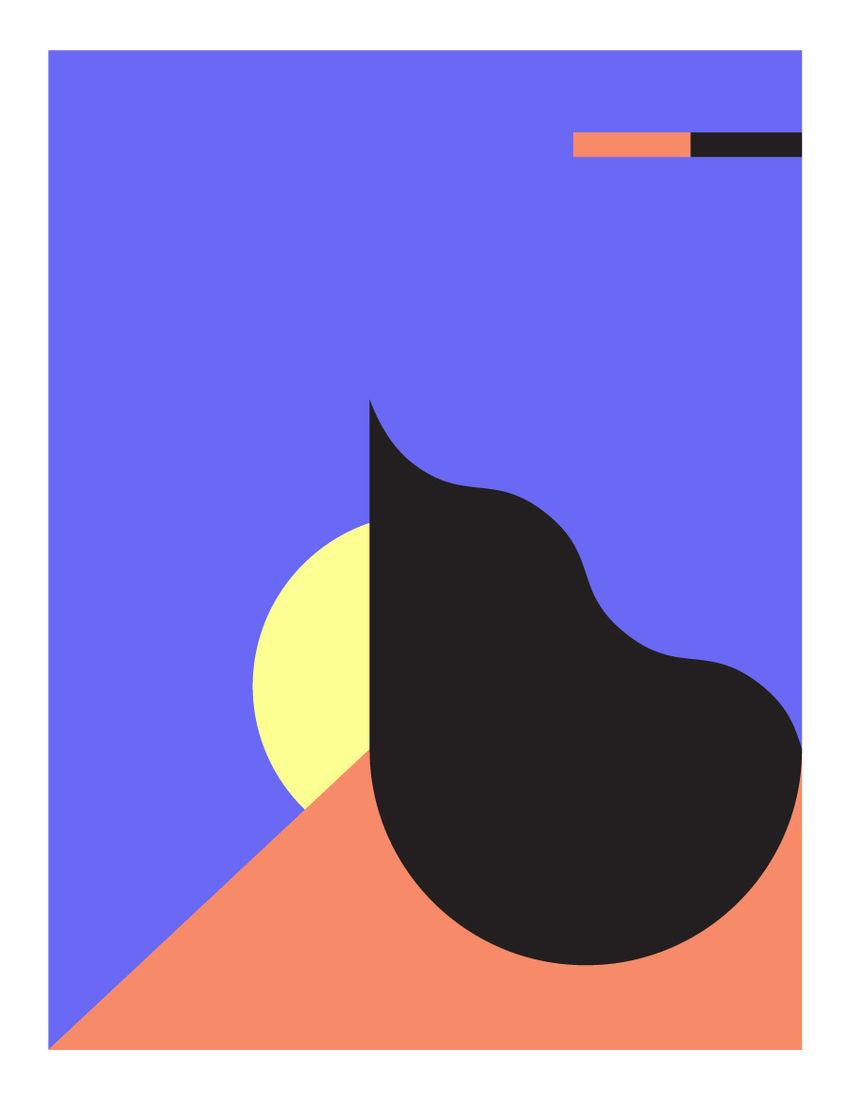 Grid & Shape Posters - Dan Romanoski
