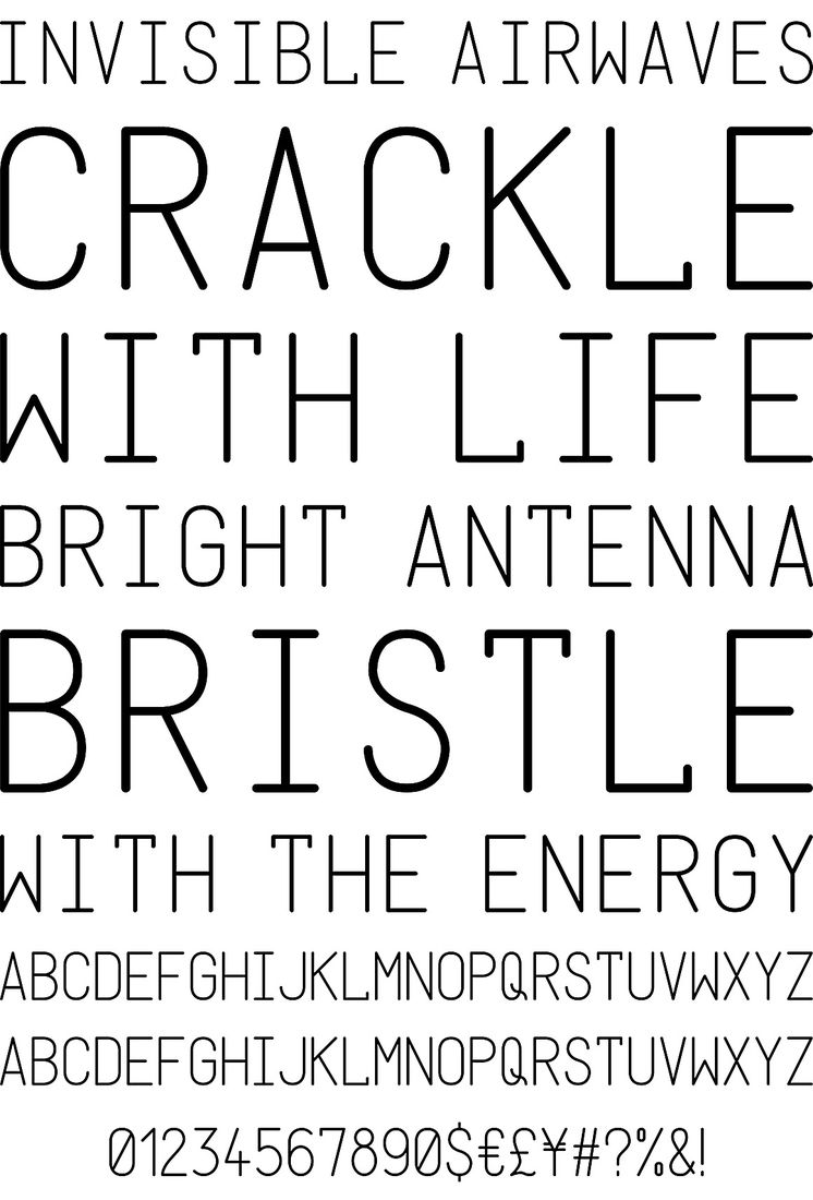 Donagram - Desktop Font & WebFont - YouWorkForThem