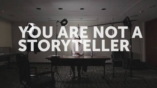 You are not a storyteller - Stefan Sagmeister @ FITC on Vimeo