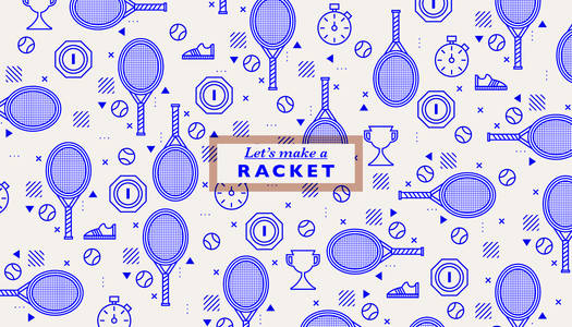 Let's make a 'racket' on Behance