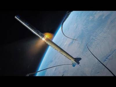 GoPro Awards: On a Rocket Launch to Space - YouTube