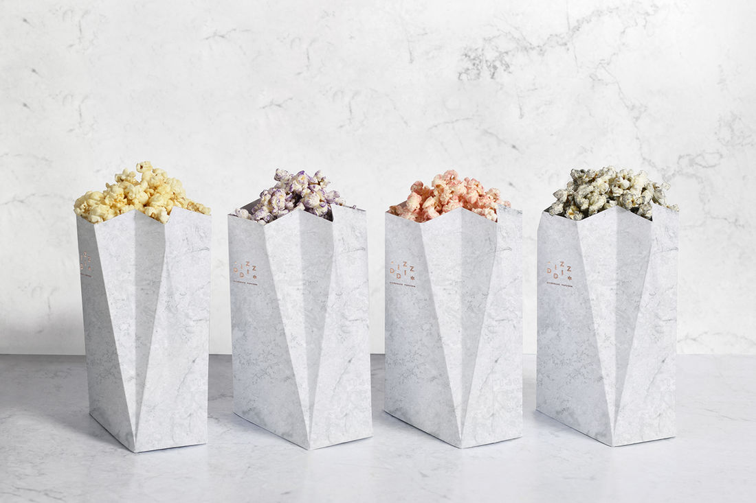Diz-Diz Popcorn on Behance