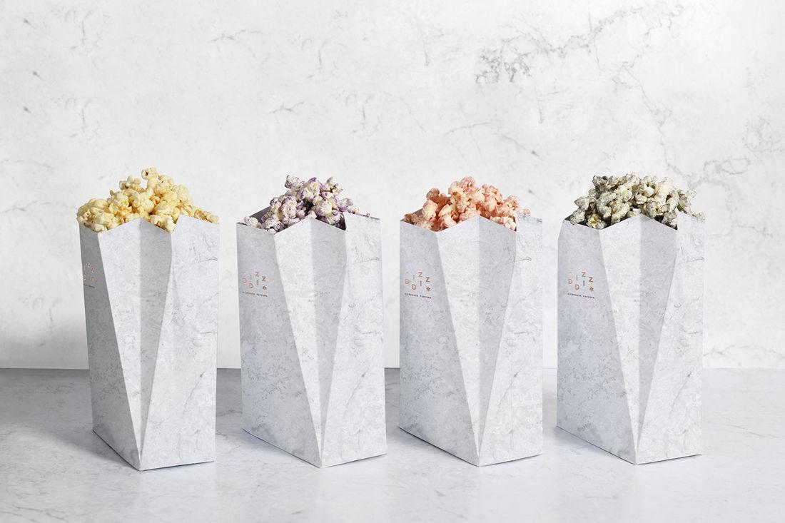 Diz-Diz Popcorn on Behance