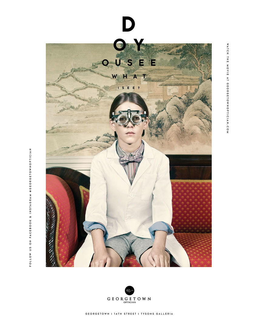 Georgetown Opticians on Behance