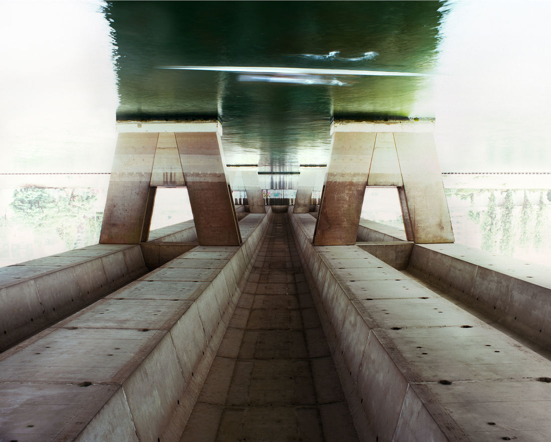 Inverted Bridge Photographs Will Make You Dizzy | The Creators Project
