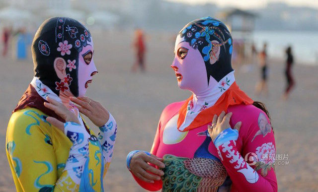 LOOK: Designer hopes that '6th-generation facekinis' will catch on in beaches around the world: Shanghaiist