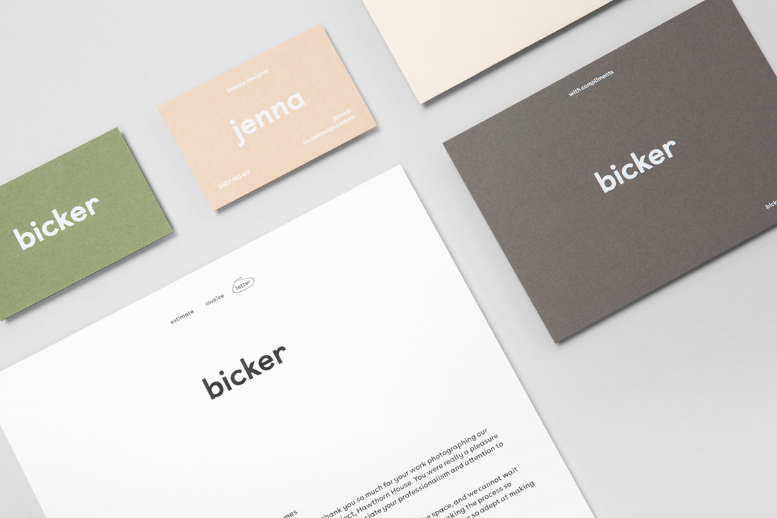 Bicker on Behance