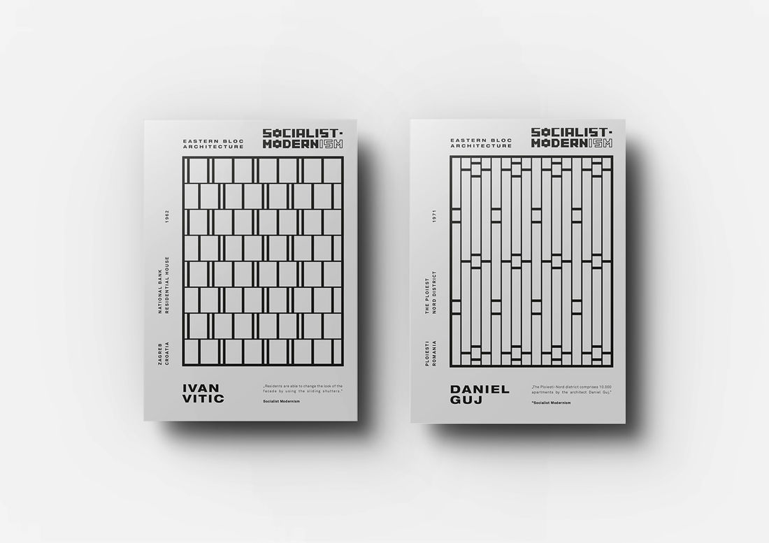 Socialist Modernism | Poster Collection on Behance