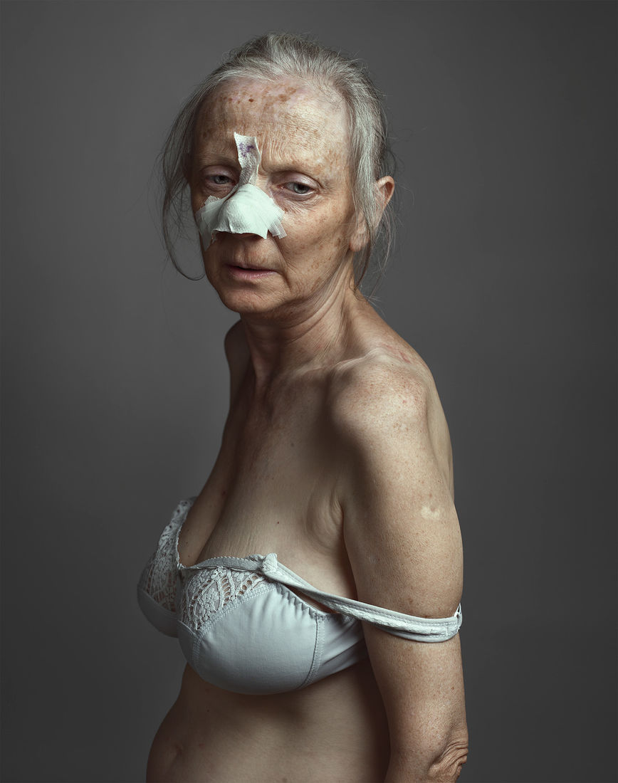 Daniela, portrait of my mother on Behance