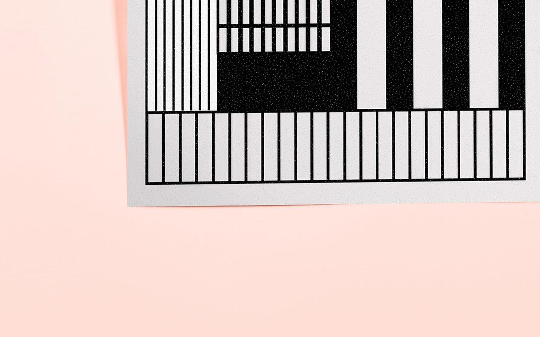 Playful grid on Behance