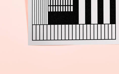 Playful grid on Behance