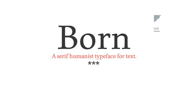Born Typeface (Free Font) on Behance
