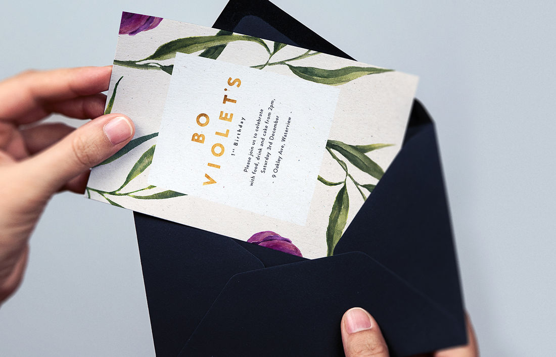 Invitations on Behance
