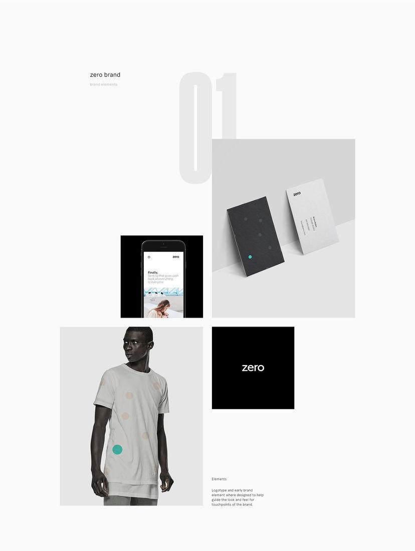 Zero Branding and Website on Behance