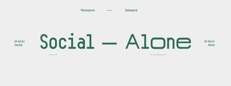AA Karin Typeface on Behance