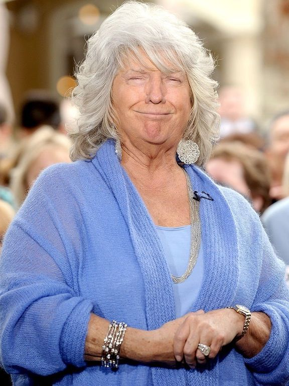 I Photoshopped Donald Trump's face onto Paula Deen : pics