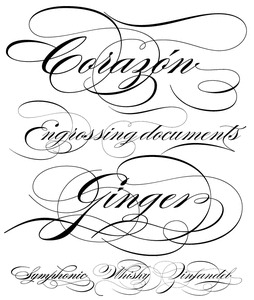 Veer: Products: Type: Burgues Script