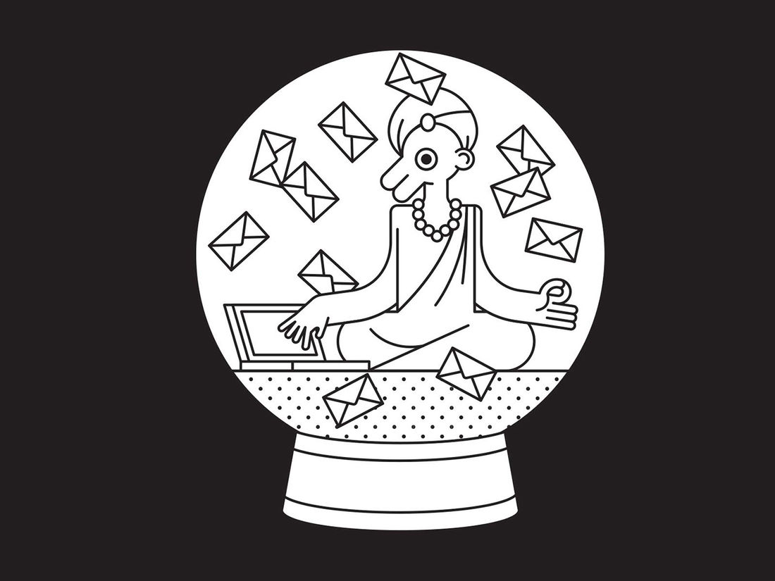 The Anxious Email Duck - A Series of Book Illustrations on Behance