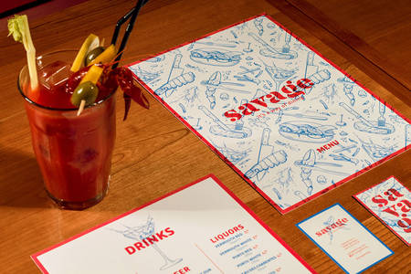 SAVAGE lobster restaurant on Behance