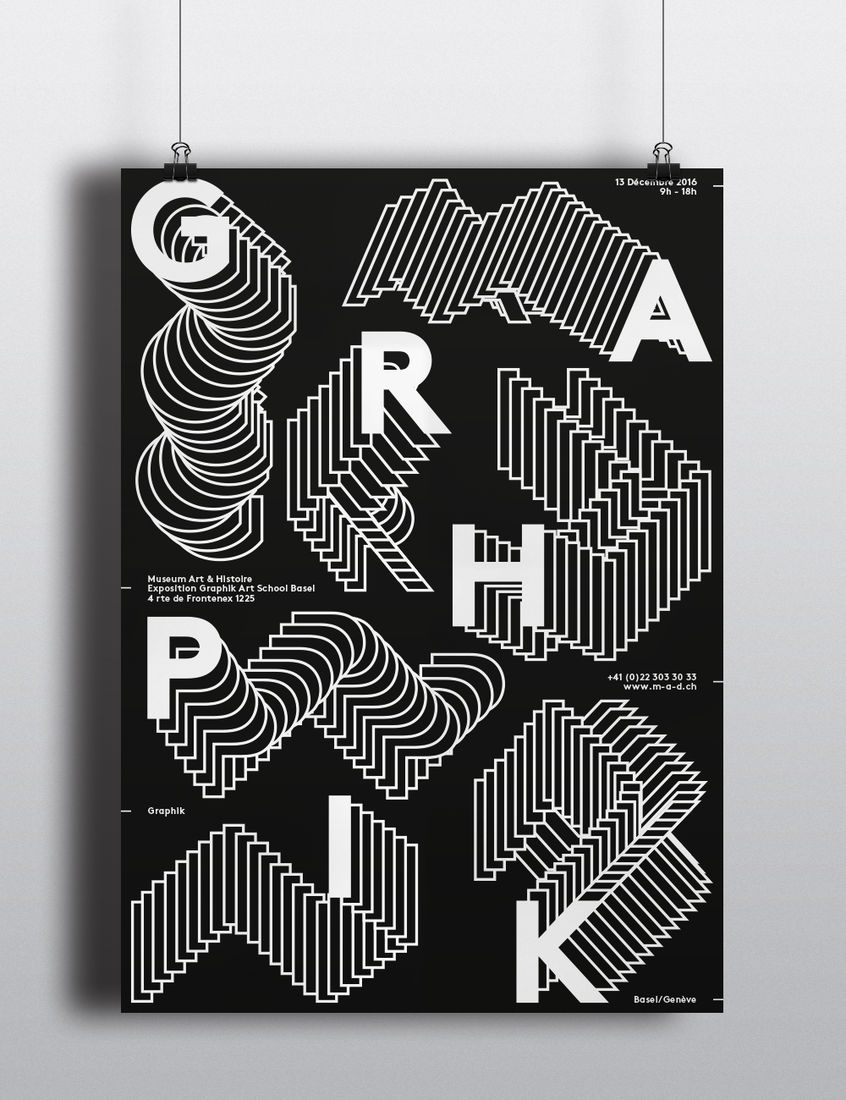 Poster – Graphik on Behance