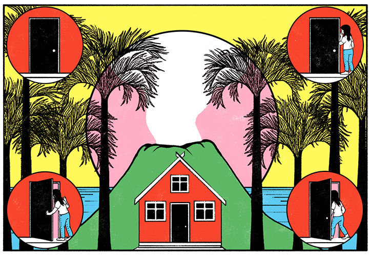 It's Nice That  Illustrator Cristina Daura's editorial work is fresh and considered