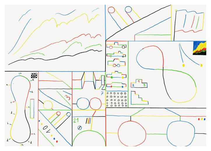 It's Nice That  Illustrator José Ja Ja Ja swaps the pencils for paints in new exhibition