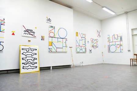 It's Nice That  Illustrator José Ja Ja Ja swaps the pencils for paints in new exhibition