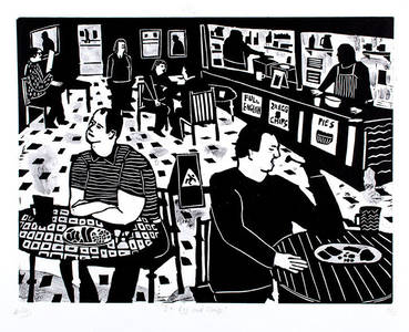 It's Nice That  Illustrator Matthew Booker's energetic observations of Englishness and the everyday