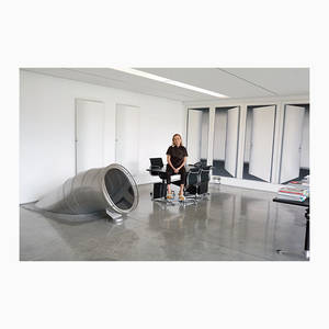 It's Nice That  Miuccia Prada and her office slide photographed by Juergen Teller for System mag