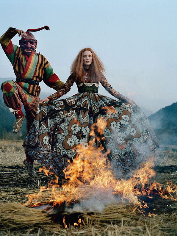 It's Nice That  Tim Walker channels the occult in great new shoot for Vogue