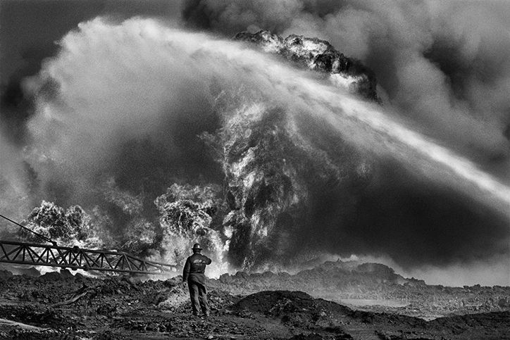 It's Nice That  Taschen's monograph features Sebastião Salgado's powerful photographs of the Kuwaiti oil fires