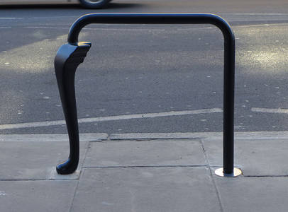 It's Nice That  The Klassnik Corporation rethinks the bike stand on London's Caledonian Road