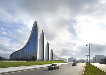 It's Nice That  Zaha Hadid's cultural centre in Azerbajan wins Designs of the Year gong
