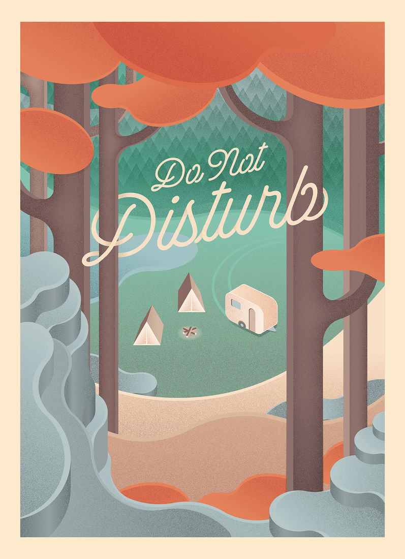 Do Not Disturb on Behance