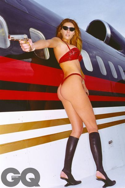 Melania Trump - the First Lady in our nude photo shoot
