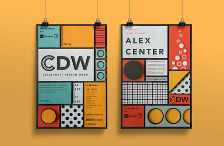 AIGA Cincinnati Design Week on Behance