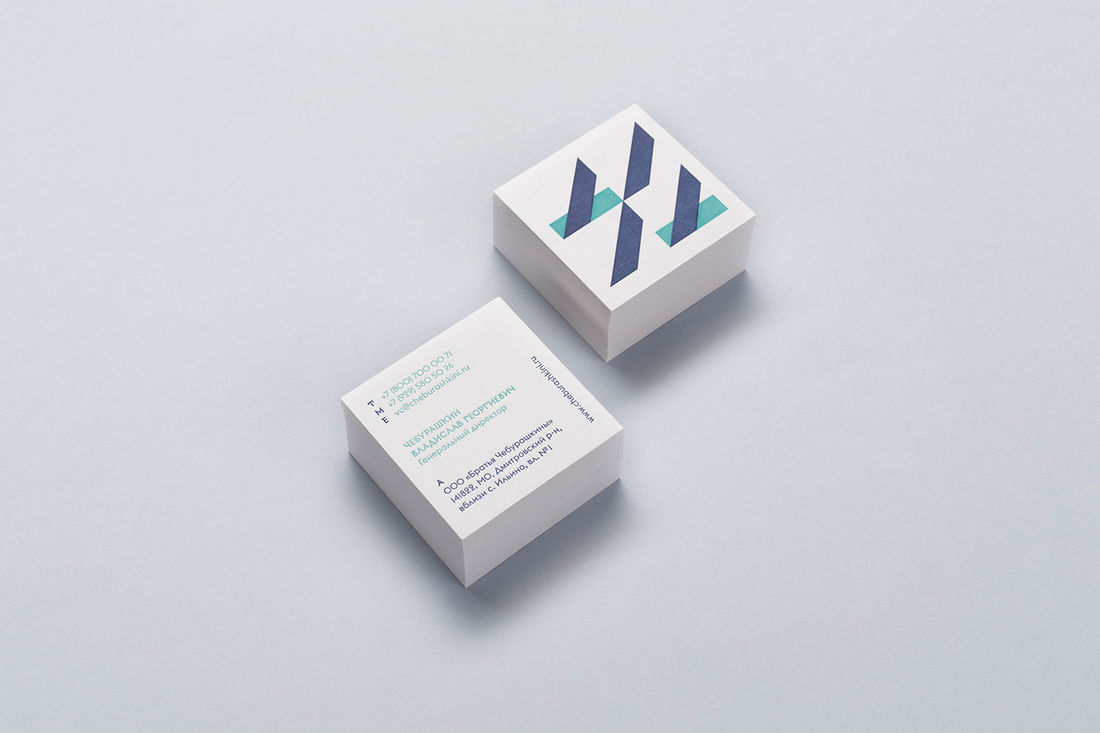 Cheburashkini Brothers Identity on Behance