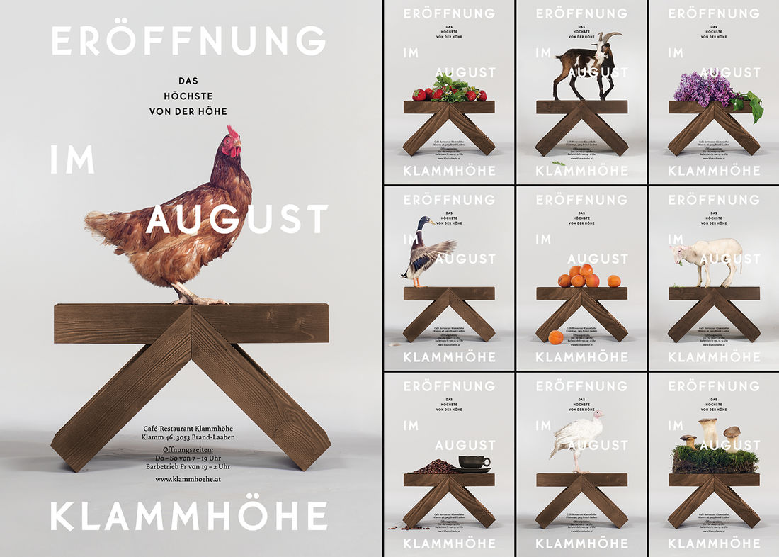 Klammhöhe Café-Restaurant on Behance