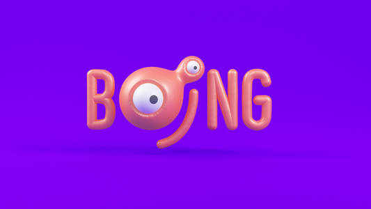 Boing Channel Rebrand on Behance