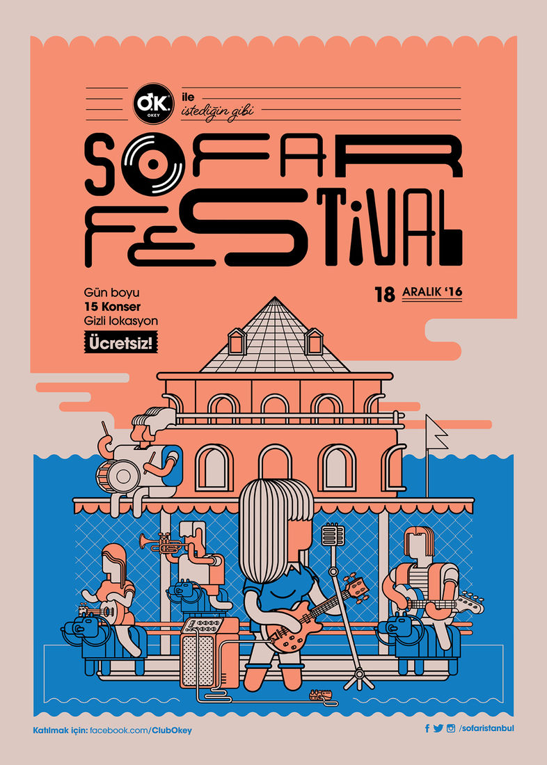 Sofar Festival'16 on Behance