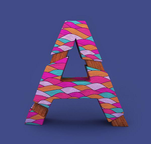Alphabet Patterns on Behance