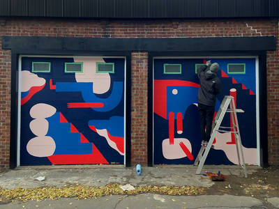 Back Alley Mural on Behance