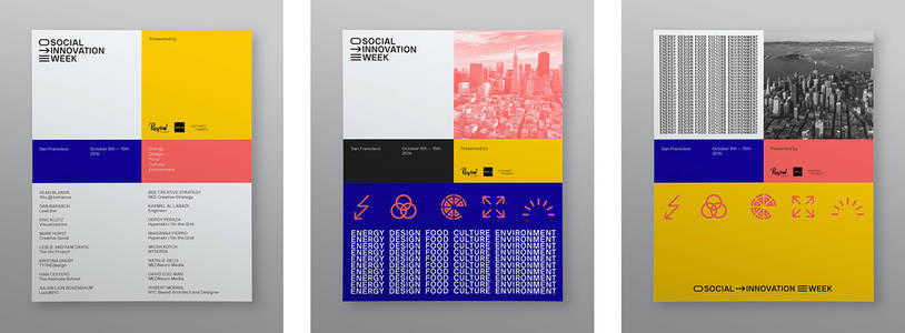 Social Innovation Week SF on Behance