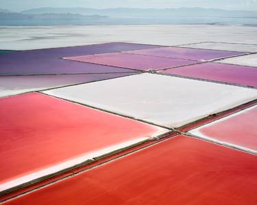 Vu du ciel, les déserts de sel sont des peintures abstraites  The Creators Project