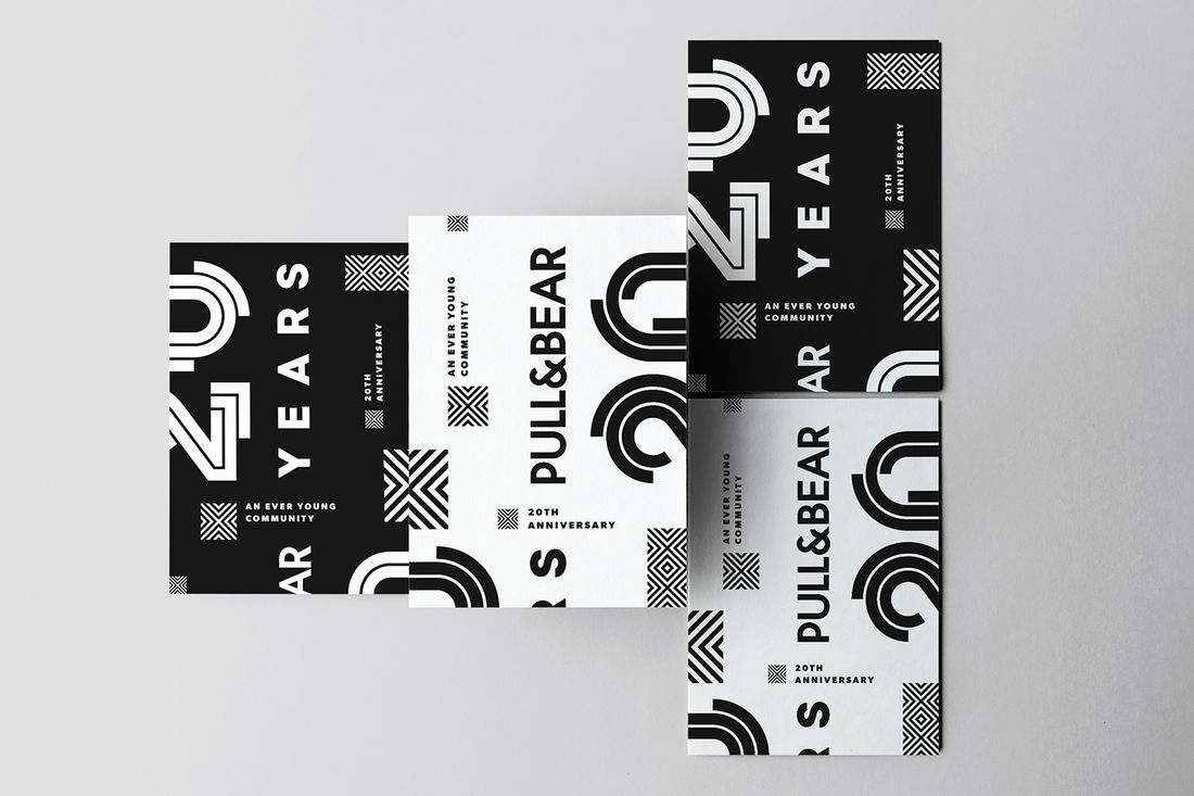 Pull&Bear 20th Anniversary on Behance