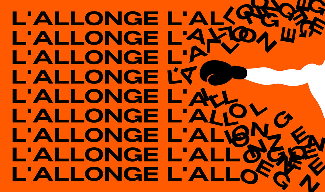 L'Allonge - Typeface preview on Behance