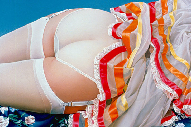 It's Nice That  Looking back at the work of bum-obsessed photorealist John Kacere (NSFW)