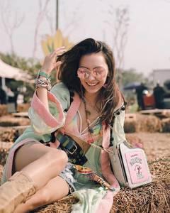 สายฮิป สายแนวก็มา! 30 ลุคKod ชิคของเหล่าดาราตัวแซ่บเมืองไทยจากงาน Wonderfruit 2017  Spice