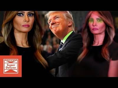 American Horror Story: Melania Says Hello To A More Presidential Trump - YouTube